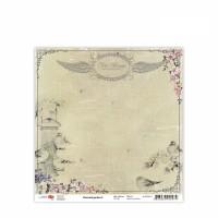 Лист бумаги 30x30 Charmed garden 5 - ROSA Talent