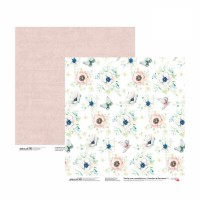Лист двусторонней бумаги 30x30 Emotion & Romance 1 - ROSA Talent
