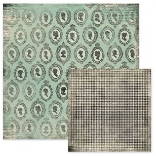 """Double Sided Patterned Paper - Antique Chic - Dolores - 30"""" x 30"""" We R Memory Keepers"""