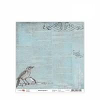 Лист бумаги 30x30 Charmed garden 4 - ROSA Talent
