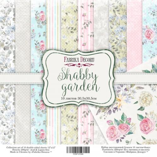 "Набор скрапбумаги ""Shabby garden"" 30 Х 30 см Фабрика Декору фото"