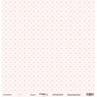 Лист односторонней бумаги 30x30 от Scrapmir Ассорти из коллекции Baby Girl