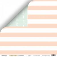 Лист двусторонней бумаги Бесконечность из коллекции Simple Flowers от Scrapmir, 30*30 см