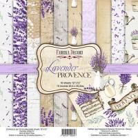 "Набор скрапбумаги ""Lavender provence"" 30*30 см, Фабрика Декору"