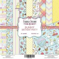 "Набор скрапбумаги ""Bunny birthday party"" 30,5 Х 30,5 см, Фабрика Декору"