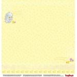 Лист двухсторонней бумаги Басик «Розовые сны» 30×30 см, ScrapBerry's фото