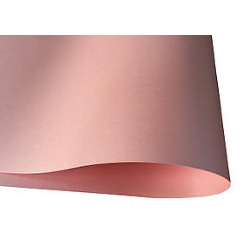 Перламутровый картон Розовый А4 фото