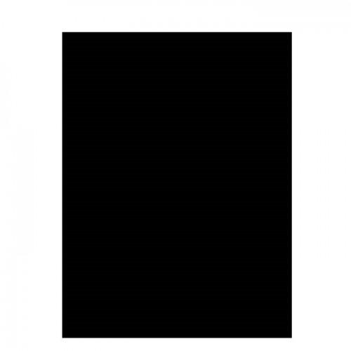 Цветная двусторонняя бумага 29.7х21 см Черный