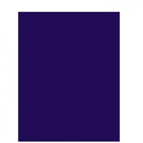 Цветная двусторонняя бумага Темно-синяя 130 г/м2, 29.7х21 см фото