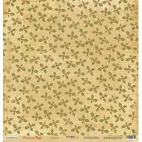 Лист односторонней бумаги Созвездие 30x30 см из коллекции Christmas Night от Scrapmir