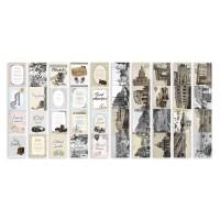 """Набор полос с картинками для декорирования """"Shabby Memory"""" Фабрика Декору"""