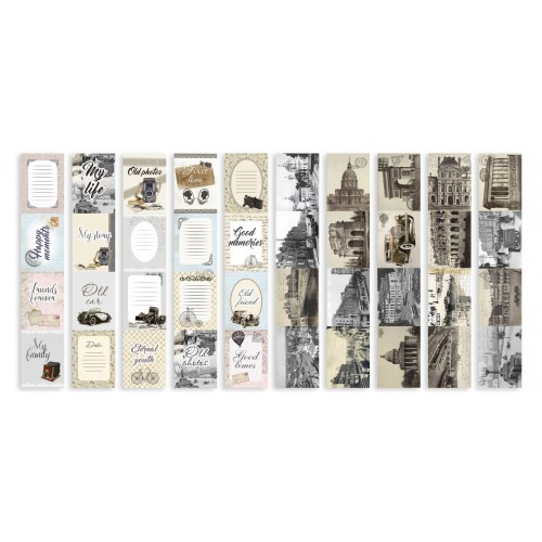 "Набор полос с картинками для декорирования ""Shabby Memory"" Фабрика Декору фото"