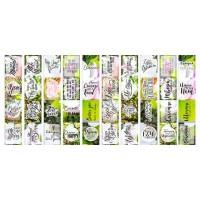 """Набор полос с картинками для декорирования """"Magnolia in bloom"""" Фабрика Декору"""