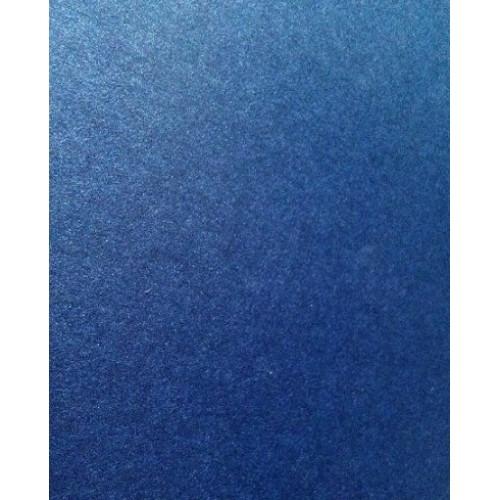 Картон перламутровый Синий 250 г/м2, А4 фото