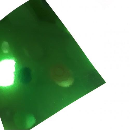 Картон зеркальный Зеленый А4 фото
