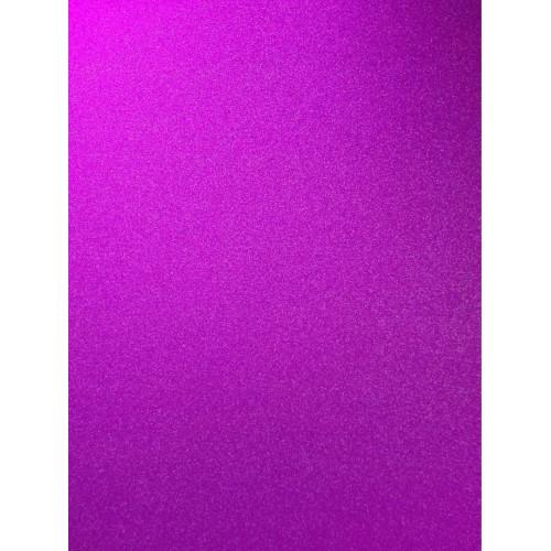 Перламутровый картон Фиолетовый А4 фото