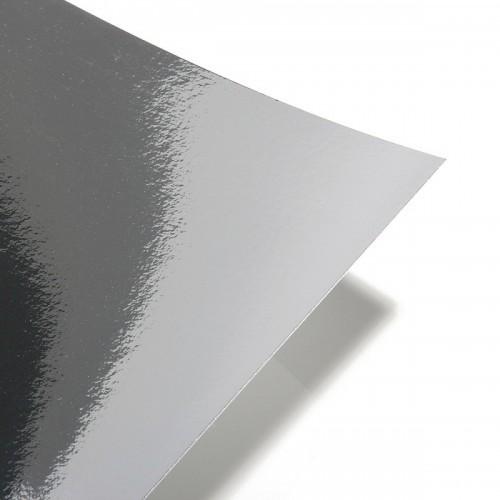 Картон зеркальный Серебро А4 фото