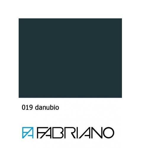 Бумага для пастели Tiziano A4 (21*29,7см), №19 danubio, Тёмно-синий, 160г/м2, среднее зерно, Fabriano