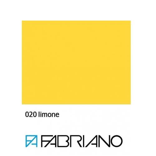 Бумага для пастели Tiziano A4 (21*29,7см), №20 limone, 160г/м2, Лимонная, среднее зерно, Fabriano