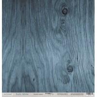 Лист односторонней бумаги 30x30 от Scrapmir Ледяное дерево из коллекции Rustic Winter