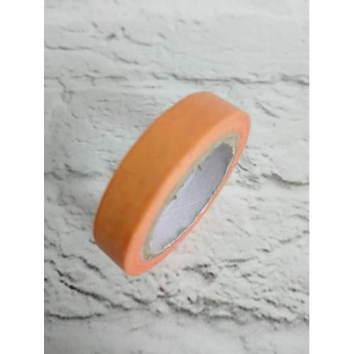 Бумажный, декоративный скотч. Оранжевый