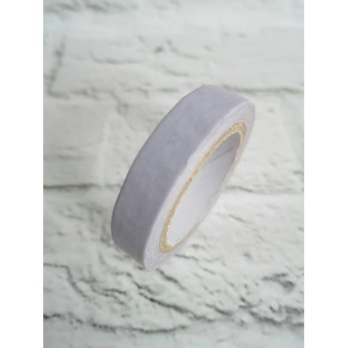 Декоративный бумажный скотч Сиреневый фото