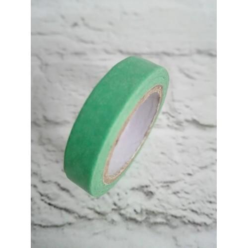 Декоративный бумажный скотч Мятный фото