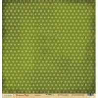 Лист односторонней бумаги Созвездие из коллекции Christmas Night от Scrapmir, 30*30 см