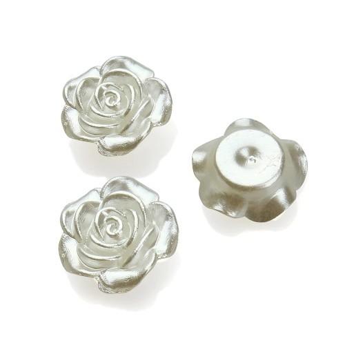 купить кабошоны Розы белые