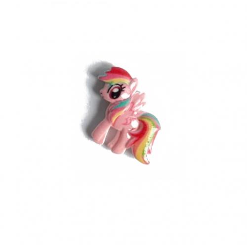 Кабошон пони розовый