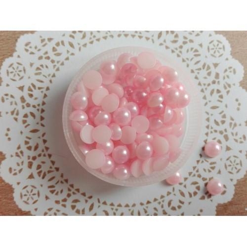 Полужемчуг Светло-розовый 5 мм фото