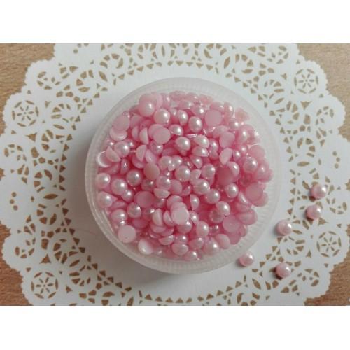 Полужемчуг Розовый 4 мм фото