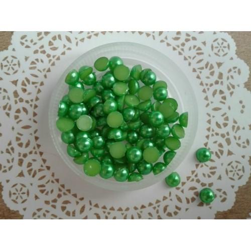 Полужемчуг Зеленый 5 мм фото