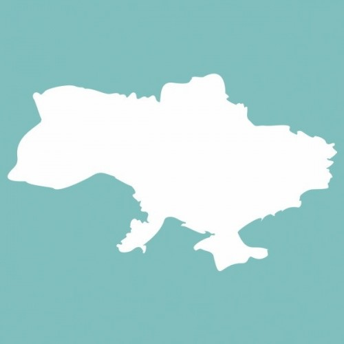 "Чипборд ""Украина"" 36*60 мм. Вензелик"