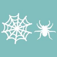 """Чипборд """"Набор паук с паутиной"""", 50*90 мм. Вензелик"""