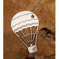 """Чипборд """"Воздушный шар"""", 9*6 см, Scrapgorod"""