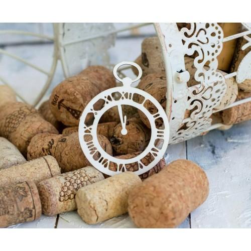 Чипборд Часы полночь, фото