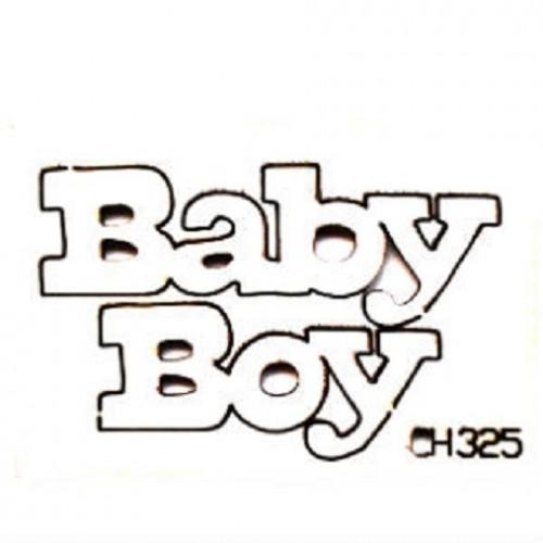 """Чипборд """"Baby Boy"""", 53*30 мм, With love"""