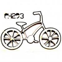 """Чипборд """"Велосипед"""", 45*28 мм, With love"""
