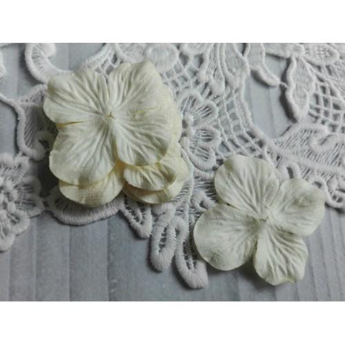 Цветок Гортензия молочная 5 см фото