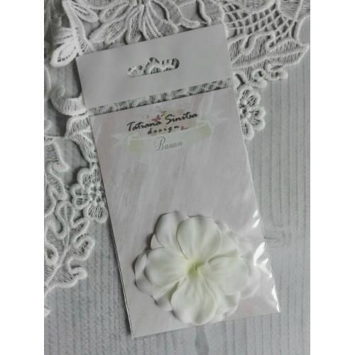 купить тканевые цветы Ваниль ТМ Татьяна Синица