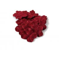 Цветок Гортензия бордовая, 5 см