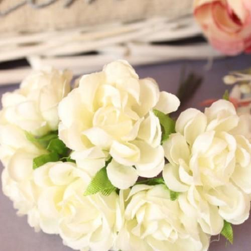 """купить розы """"Аве Мария"""" на ножке Кремовые"""