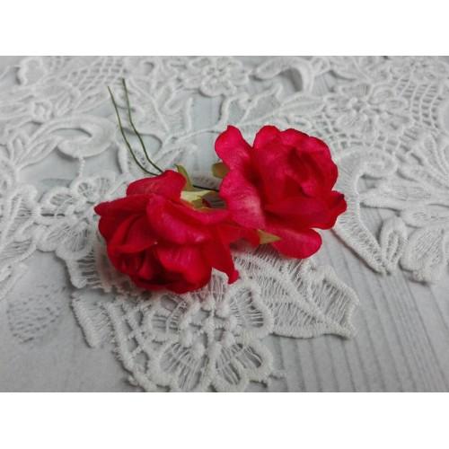 купить розы бумажные Красные Тайланд