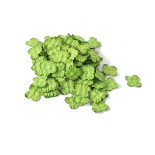 Цветок Гортензия зеленая 3 см фото