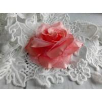 Декоративная Роза Коралловая, 8 см