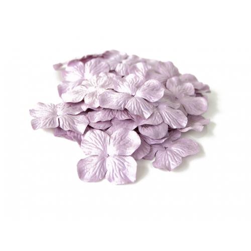 Цветок Гортензия сиреневая 5 см фото