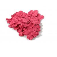 Цветок Гортензия Красная, 5 см