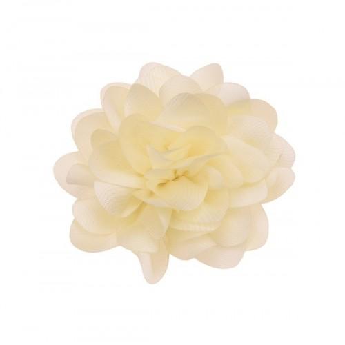 Шифоновый цветок пышный Молочный, фото