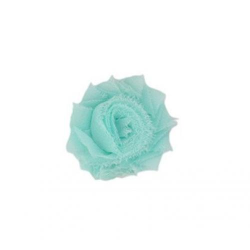 Шифоновый шебби цветок Мятный фото